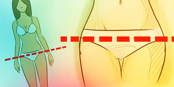 gordura localizada no quadril