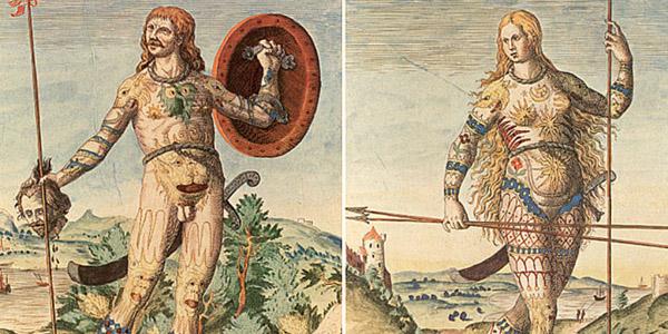 origem da tatuagem na história